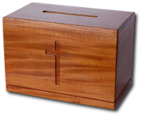 Скринька для пожертв