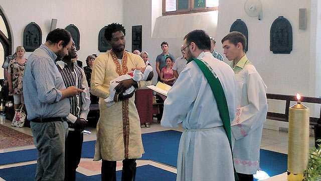 Вітаємо новоохрещену Ніколь-Адору