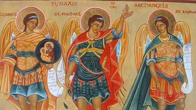 Архангели Михаїл, Гавриїл і Рафаїл
