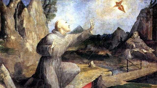 Стигматизація. Сцени з життя Святого Франциска