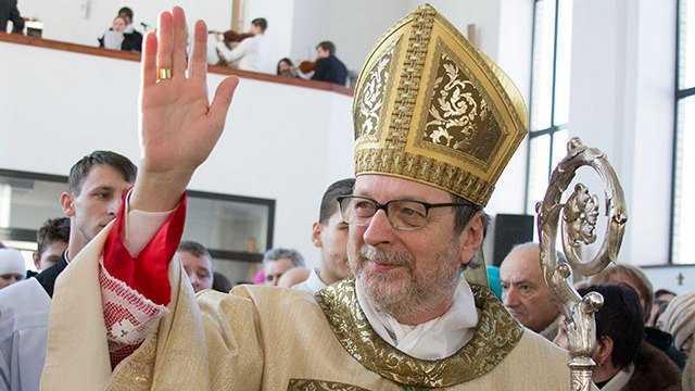 Високопреосвященніший архиєпископ Клаудіо Ґуджеротті – Апостольський Нунцій в Україні