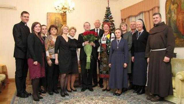 Апостольський Нунцій прибув в Україну