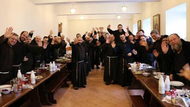 Весняна формаційна зустріч капуцинів в Україні