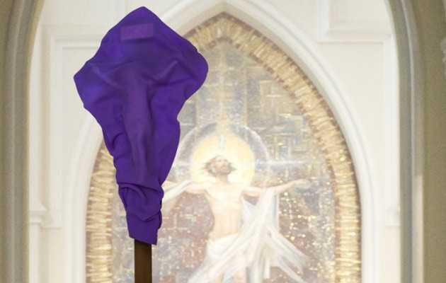 Закритий хрест – символ жалю і покаяння грішника