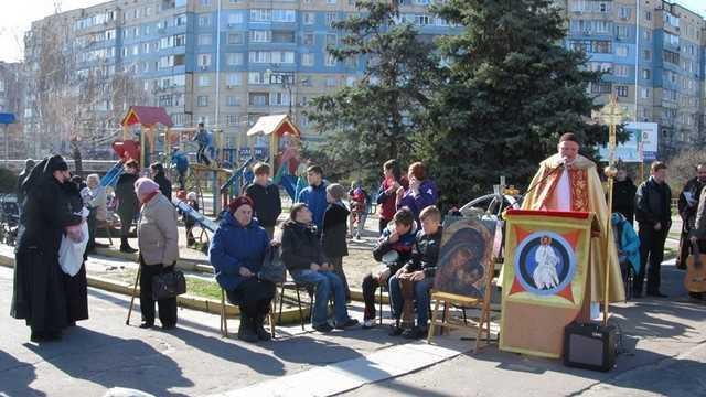 Євангелізація на Лівому березі міста