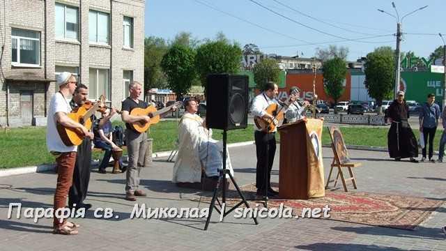 Великодня Євангелізація в місті Кам'янському