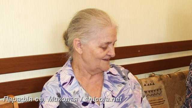 Ювіляр нашої парафії – пані Марія Вербовська