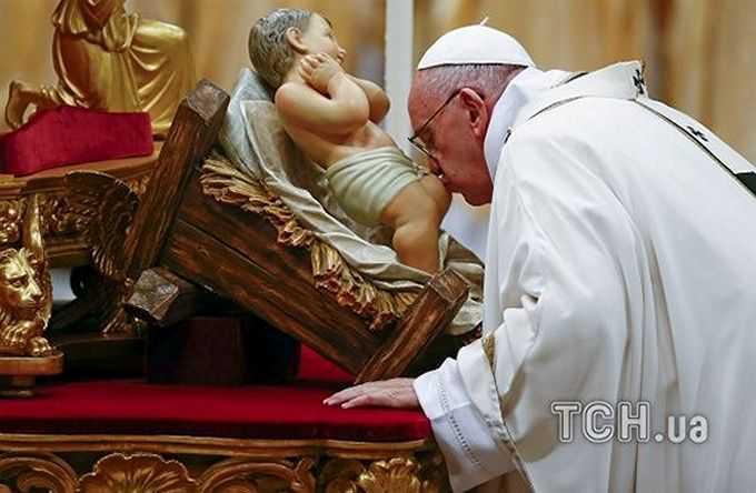 Прямі трансляції Різдвяних Богослужінь з Ватикану і Києва