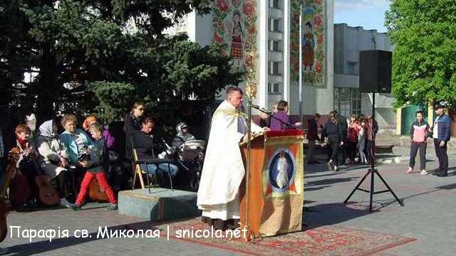 Євангелізація на площі