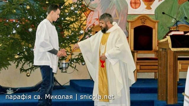 """Хрещення Господнє та """"Ясла"""" в нашій парафії"""