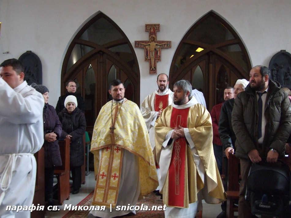 Престольне Свято в парафії святого Миколая