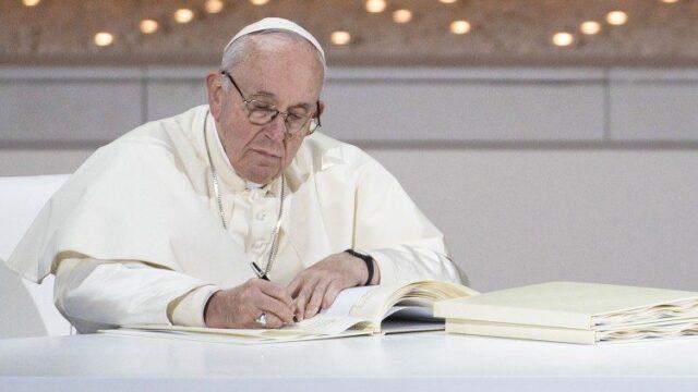 Лист Святішого Отця до всіх вірних на травень 2020